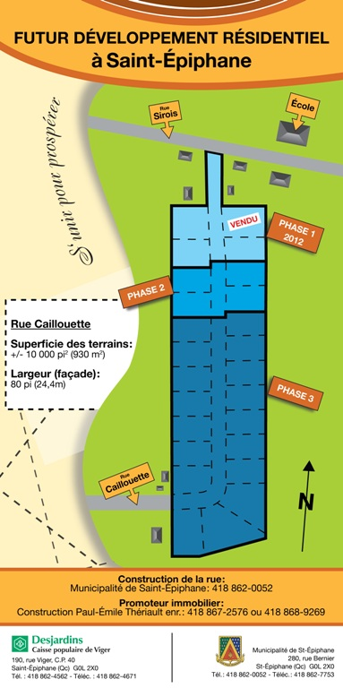 Plan rue Caillouette